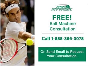 FREE Ball Machine Consultation Offer
